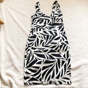 Black and Silver London Times Dress Size 10